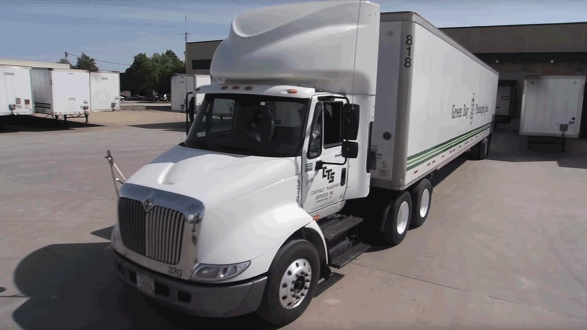 Green Bay Packaging, Semi Truck, Truck