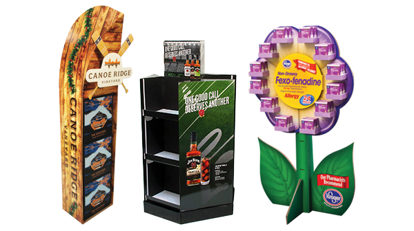 Point of Purchase Floorstand Displays