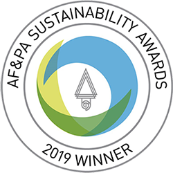 AF & PA Sustainability Awards, 2019 Winner, Green Bay Packaging